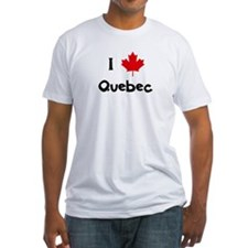 I Love Quebec Shirt