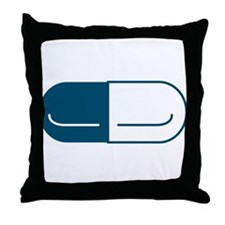 Pill Throw Pillow