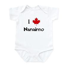 I Love Nanaimo Infant Bodysuit