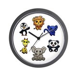 Horloge_Animals.png Wall Clock