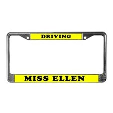 Driving Miss Ellen License Plate Frame
