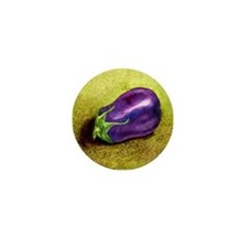 Eggplant Mini Button (10 pack)