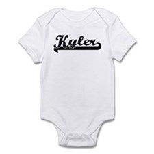 Black jersey: Kyler Infant Bodysuit