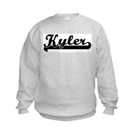 Black jersey: Kyler Kids Sweatshirt