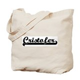 Black jersey: Cristofer Tote Bag