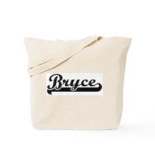 Black jersey: Bryce Tote Bag