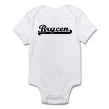 Black jersey: Brycen Infant Bodysuit