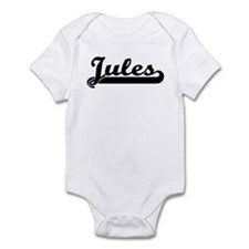 Black jersey: Jules Infant Bodysuit