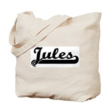 Black jersey: Jules Tote Bag