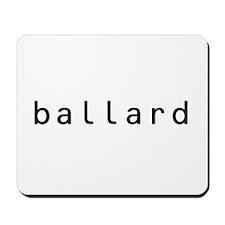 Ballard Shirts! Mousepad