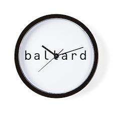 Ballard Shirts! Wall Clock