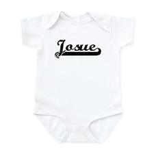Black jersey: Josue Infant Bodysuit