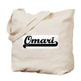 Black jersey: Omari Tote Bag