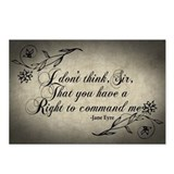 right-to-command-me_12x18.jpg Postcards (Package o