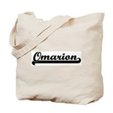 Black jersey: Omarion Tote Bag