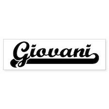 Black jersey: Giovani Bumper Bumper Sticker