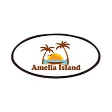 Amelia Island - Palm Trees Design. Patches
