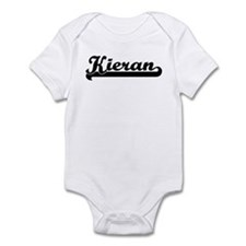 Black jersey: Kieran Infant Bodysuit