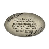 i-care-for-myself_12x18.jpg Wall Decal