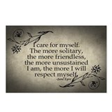 i-care-for-myself_12x18.jpg Postcards (Package of