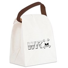 WRX Scull Canvas Lunch Bag