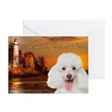 Funny Poodle Dad's Day Card