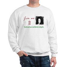 Calculus Leibniz style Sweatshirt