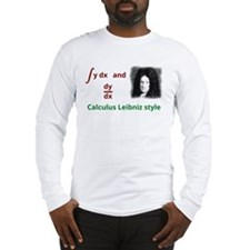 Calculus Leibniz style Long Sleeve T-Shirt