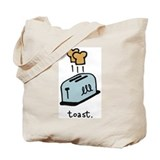 Toast Tote Bag