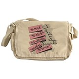 Twilight Movie Dates Messenger Bag