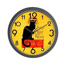 Funny Orange wall Wall Clock