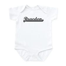 Black jersey: Braedon Infant Bodysuit