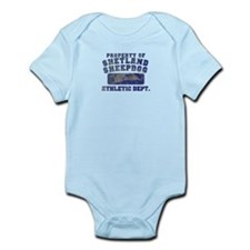 Property of Shetland Sheepdog Infant Bodysuit