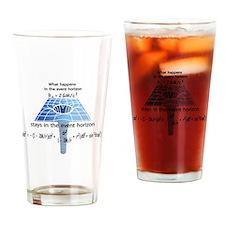 Cute Event horizon Drinking Glass