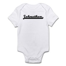 Black jersey: Johnathon Infant Bodysuit