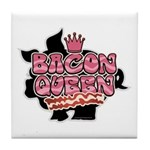 Bacon Queen Tile Coaster