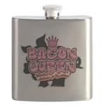 Bacon Queen Flask