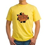Bacon Queen Yellow T-Shirt