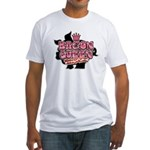 Bacon Queen Fitted T-Shirt