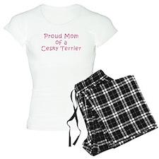 Proud Mom of a Cesky Terrier Pajamas