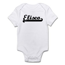Black jersey: Eliseo Infant Bodysuit