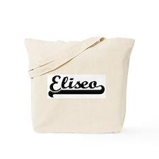 Black jersey: Eliseo Tote Bag