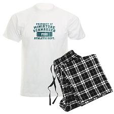 Personalized Miniature Schnauzer Pajamas