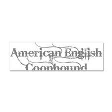 American English Coonhound Car Magnet 10 x 3