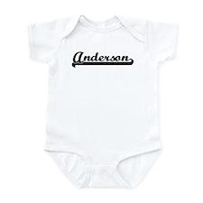 Black jersey: Anderson Infant Bodysuit