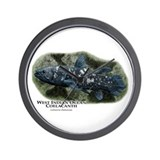 West Indian Ocean Coelacanth Wall Clock