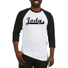 Black jersey: Jody Baseball Jersey