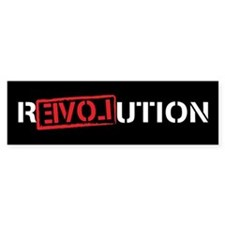 Ron Paul Revolution Car Sticker