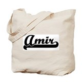 Black jersey: Amir Tote Bag