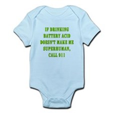 Drink Battery Acid Infant Bodysuit